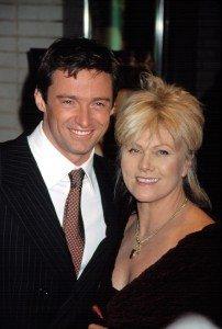 Hugh Jackman and wife