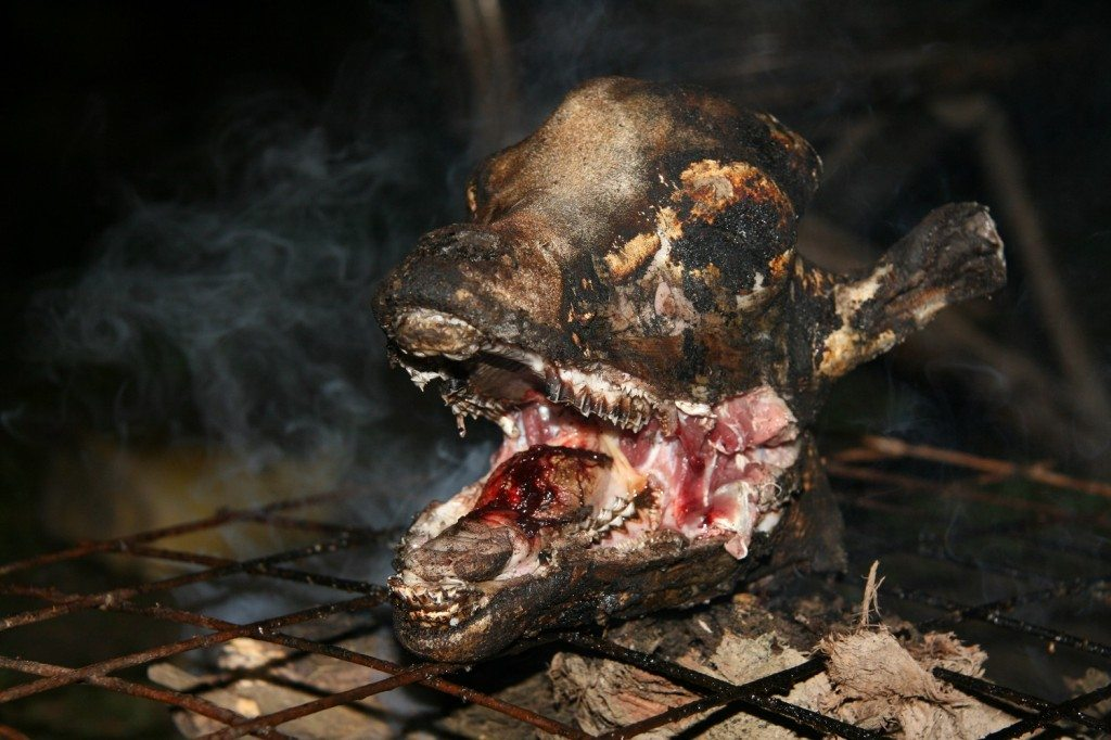 BBQ Goat Head: So Goaty!