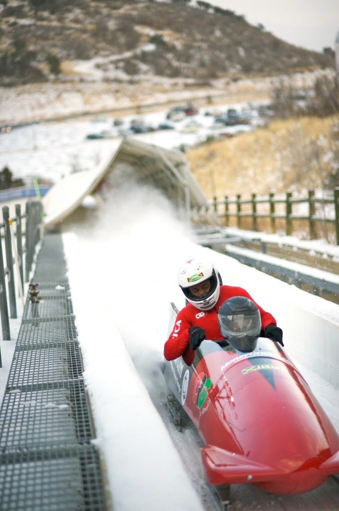 Jamaican Bobsled Yes We Can Mon!
