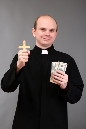 Churches, like people, love money. There are ulterior motives