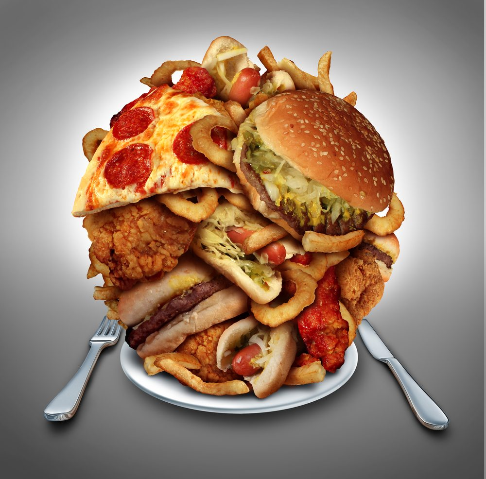 You're Fat Because You Overeat. Seriously overeat.