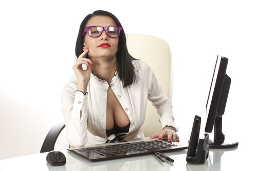 Once you're married, you'd better get a new secretary.