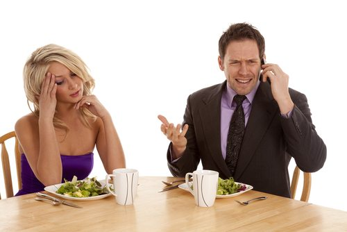 Pay attention to your date.  For a perfect first date put away the phone and keep your vices in check