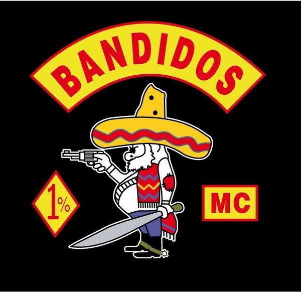 Bandidos MC an infamous motorcycle club.