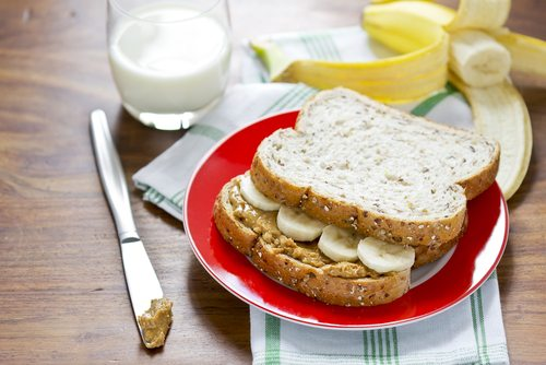 Elvis Presley, the King, had a weakness for peanut butter and bananas.