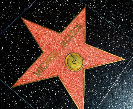 Michael Jackson has two stars on the Hollywood Walk of Fame