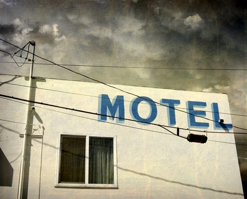 Michael Phillips was around the wrong motel at the wrong time